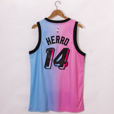 men's Miami Heat Tyler Herro 14 city edition blue new jersey S-2XL