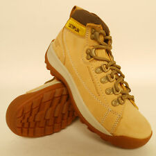 CATERPILLAR  - ACTIVE ALASKA HONEY NUBUCK LEATHER  ANKLE BOOTS WOMEN SIZE 3