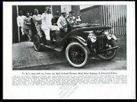 1930 Millstadt Illinois fire engine truck firemen pajamas photo print article