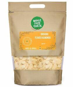 Organic Flaked Almonds   GMO Free