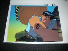 Cadillacs And Dinosaurs Cartoon Animation Cel & Printed Bg 43 B2 Jack Tenrec