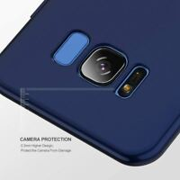 New Ultra Thin Case Cover For Samsung S7 Edge s8 s9+ Plus with screen Guard