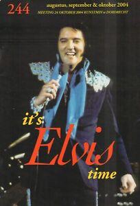 IT'S ELVIS TIME NR. 244 - DUTCH FANCLUB MAGAZINE 2004