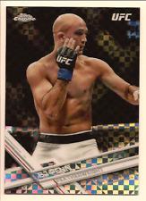 BJ PENN 2017 TOPPS UFC CHROME X-FRACTOR REFRACTOR
