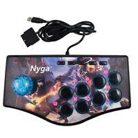 Retro Arcade Game Rocker Controller Usb Joystick For Ps2/Ps3/Pc/Android Sma A1L1