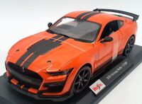 Maisto 1/18 Scale Model Car 46629 - 2020 Mustang Shelby GT500 - Orange