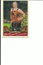 Brittany Lincicome Golf Autographed Card