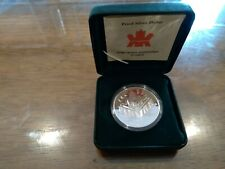 "2000 Canada ""Voyage of Discovery"" Silver Dollar Proof From Royal Mint"