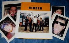HINDER Band/Autog Photo&Photos/-VERY HOT