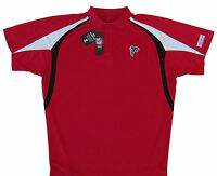 Atlanta Falcons NFL Men's Moist Management Polo Shirt Red Big & Tall Sizes NWT