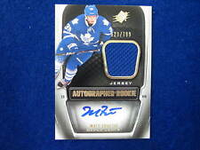 2011 12 SPX Matt Frattin  rookie jersey autograph Maple Leafs  #ed 523 of 799 RC