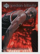 Michael Jordan 1997 TRIBUTE IMPRESSIONS EYE POPPING Desire to Compete Card #MJ47