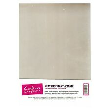 Crafters Companion  heat resistant acetate - 20 sheets