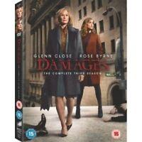 Damages: Season 3 DVD NEW & Sealed NORDIC IMPORT