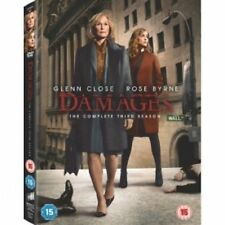 Damages: Season 3 DVD NEW & Sealed NORDIC IMPORT