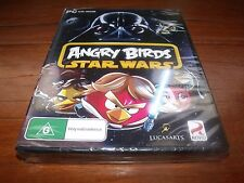 ANGRY BIRDS STAR WARS PC GAME ROVIO **BRAND NEW AND SEALED** FAST POSTAGE!