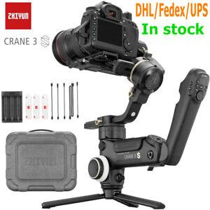 ZHIYUN Crane 3S/3S-E 3-Axis Gimble Stabilizer Servo Follow Focus 6.5Kg playload