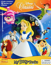NEW Disney Classics My Busy Books 12 Cake Topper Figurines + Playmat + Storybook
