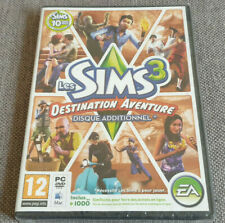 PC Game The Sims 3 World Adventures New Sealed French Version English Game Damag