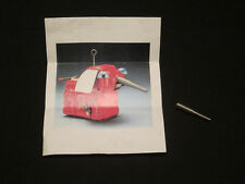 Vintage Space Elephant Tin Toy Replacement Nose Spring