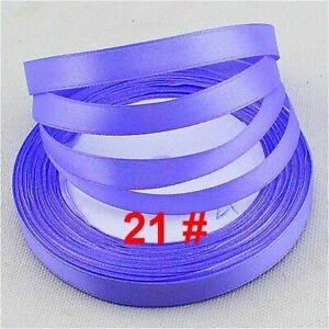 Free shipping 25 Yards1/4(6mm)Satin Ribbon  Craft Decoration/Wedding/ D21