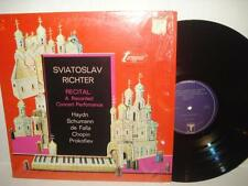 Sviatoslav Richter Piano Recital - LP Album Mono