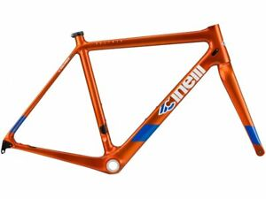 CINELLI VELTRIX CARBON DISC ROAD - ORANGE/ SIZE : L