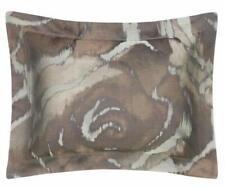 Sferra King Pillow Sham Roseto/ Sand 100% Egyptian Cotton Yarn Dyed Jacquard