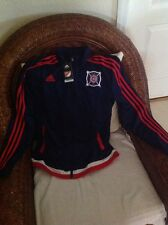 Adidas chicago fire mls soccer  Track anthem jacket  new with tags size L womens