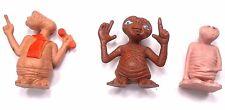 E T Figures Extra Terrestrial Vintage 1982 Lot 3 Universal Studios & J A R Sales