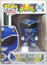 Funko Pop Blue Ranger Metallic # 363 Power Rangers Vinyl Figure  Brand New