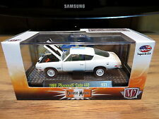 M2 Machines 1969 Plymouth Cude 440 Detroit Muscle 1:64 Diecast