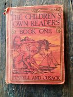 PENNELL & CUSACK THE CHILDREN'S OWN READERS, BOOK ONE, 1929 EDITION