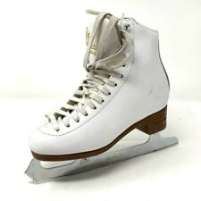 Jackson Unisex Kids Artiste Ice Skate Shoes White 1791 High Top Lace Up 3 C