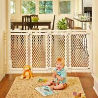 "Extra Wide Sliding Swing Door Baby Gate 22-62"" Child Pet Safety"