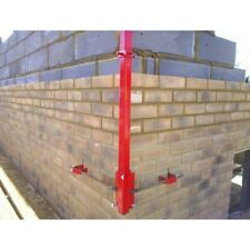 Ten 300 mm Bricklaying profile clamps