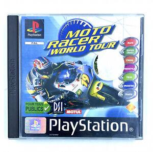 Jeu PS1 Moto Racer World Tour Complet en boite Sony Playstation 1 PAL FRA