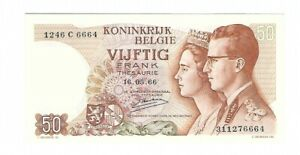 Belgium - 50 Francs 1966 !!UNC!!