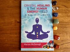 Crystal Healing Beginner's Guide plus Chakra Pack - Book & set of 7 Crystals