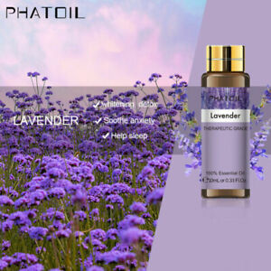 10ml Plant Therapy Essential Oils Lavender,Peppermint Aromatherapy Essential Oil