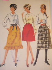 Mc-9433 Vintage 1960s Blouse Skirt Sewing Pattern McCall's Size 14 Complete