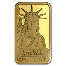 5 gram Gold Bar - Credit Suisse Statue of Liberty - SKU #45922