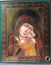 "Icon Mother of God savior of drowning 4""х5"" СПАСИТЕЛЬНИЦА УТОПАЮЩИХ"