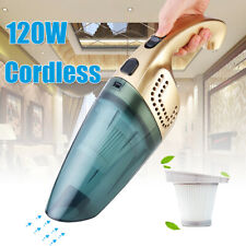 120W Vacuum Cleaner Electric Portable Handheld Cordless Wet & Dry For Car Home