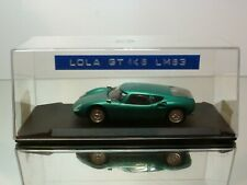 MINI RACING LOLA GT 1K6 LE MANS 1963 - GREEN 1:43 - VERY GOOD IN BOX