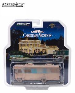 Greenlight 1/64 1972 Condor II RV National Lampoon Christmas Vacation 33100-A
