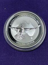 2002 Australia Kookaburra Perth Mint 1 oz .999 Silver Coin