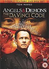 Angels And Demons / The Da Vinci Code Tom Hanks (DVD, 2011, 2-Disc Set)