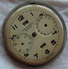 Universal Geneve Triple Date mens wristwatch movement & dial cal 291 load manual