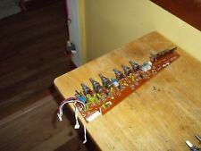 Akai MG 614  Professional 6 Channel Mixer Channel 6 Board Part # 370171-A